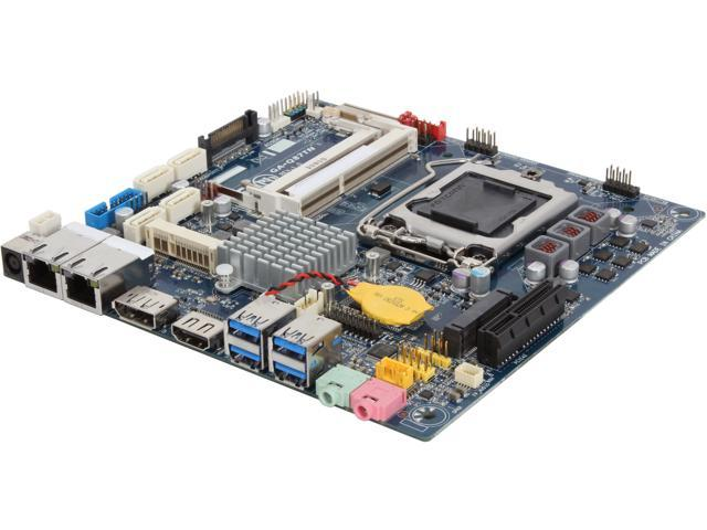 GIGABYTE GA-Q87TN LGA 1150 Intel Q87 HDMI SATA 6Gb/s USB 3.0 Thin Mini-ITX Intel Motherboard
