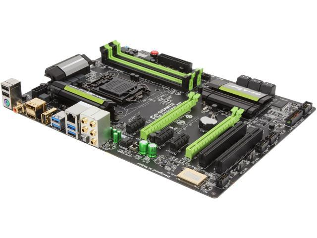 GIGABYTE G1 Gaming G1.Sniper Z87 LGA 1150 Intel Z87 HDMI SATA 6Gb/s USB 3.0 ATX Intel Motherboard