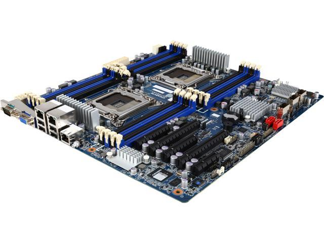 Gigabyte Ga 7pesh1 Dual Intel Xeon E5 Motherboard Review: Gigabyte GA-7PESH1 Server Motherboard