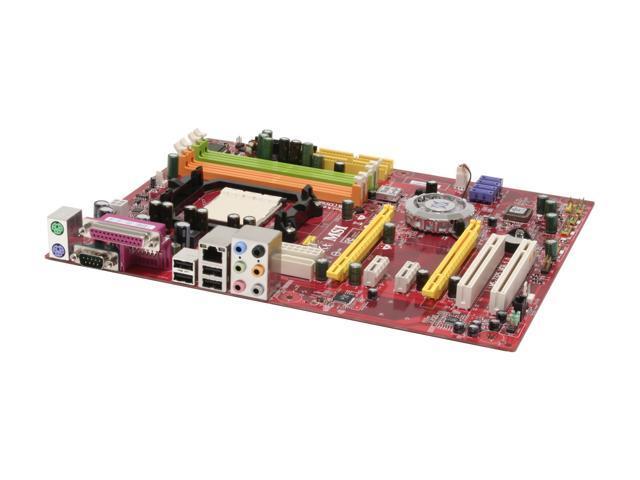 MSI K9N4 SLI-F AM2 NVIDIA nForce 500 SLI MCP ATX AMD Motherboard