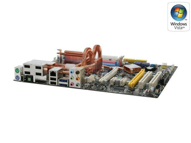 MSI P35D3 Platinum LGA 775 Intel P35 ATX Intel Motherboard