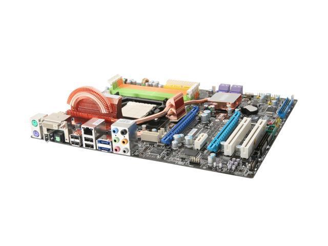 MSI K9N2 SLI Platinum AM2+/AM2 NVIDIA nForce 750a SLI ATX AMD Motherboard