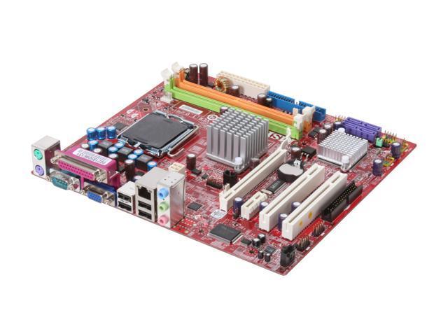 MSI G31M3-F LGA 775 Intel G31 Micro ATX Intel Motherboard