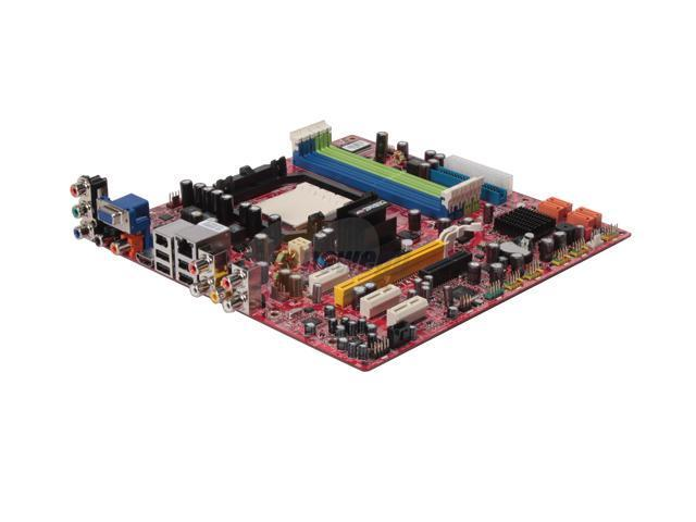 MSI Media Live DIVA 7.1 Micro ATX Combo Kit of Mobo and 7ch Pre-Amplifier Card