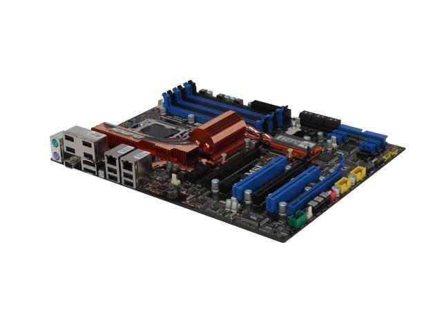 MSI X58 Eclipse SLI ATX Intel Motherboard
