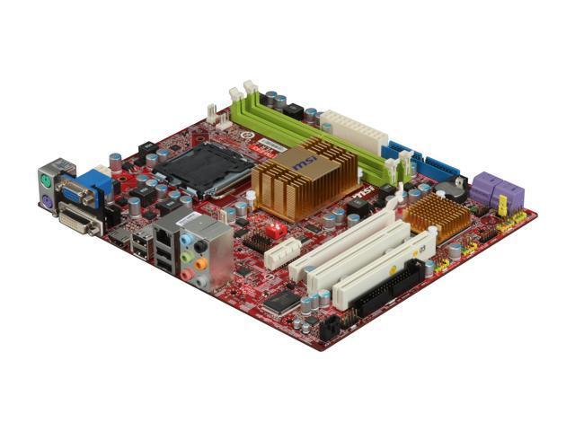 MSI G41TM-E43 LGA 775 Intel G41 HDMI Micro ATX Intel Motherboard