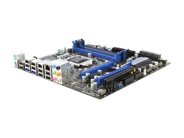 MSI P55M-GD45 LGA 1156 Intel P55 Micro ATX Intel Motherboard