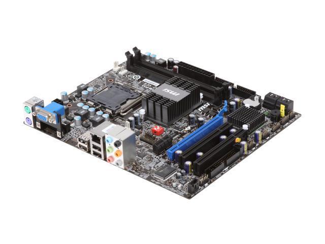 MSI G41M-P33 LGA 775 Intel G41 Micro ATX Intel Motherboard