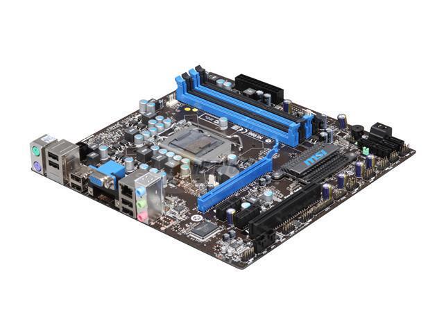 MSI H55M-P31 LGA 1156 Intel H55 Micro ATX Intel Motherboard