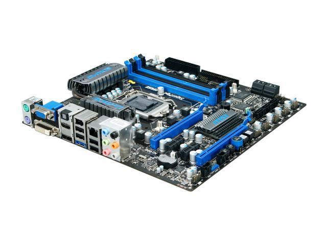 MSI H57M-ED65 Micro ATX Intel Motherboard