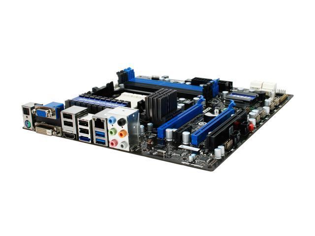 MSI 890GXM-G65 AM3 AMD 890GX SATA 6Gb/s USB 3.0 HDMI Micro ATX AMD Motherboard