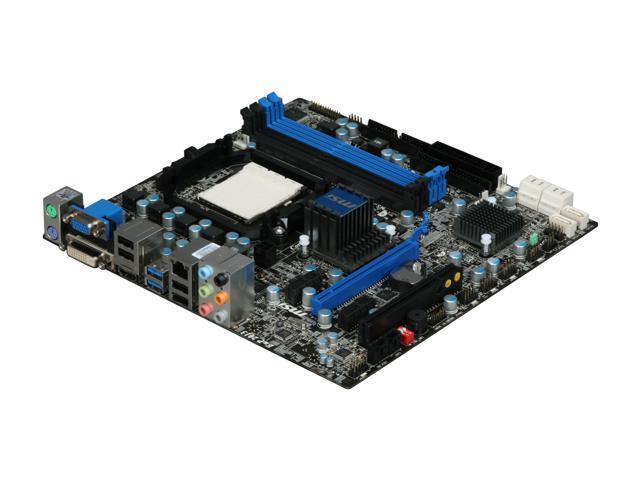 MSI 880GMA-E45 Micro ATX AMD Motherboard