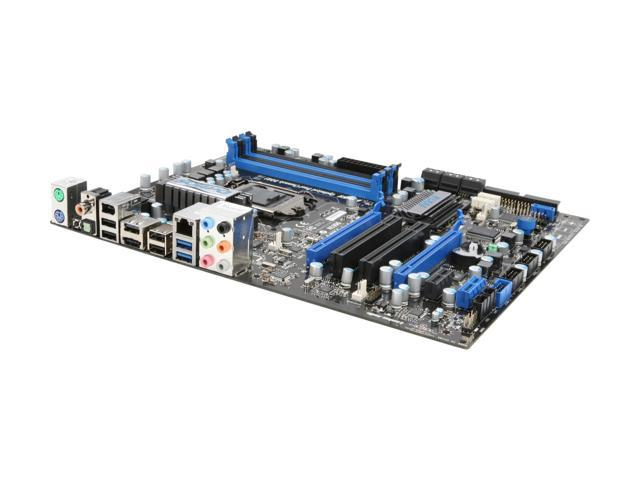 MSI P55A-GD65 LGA 1156 Intel P55 SATA 6Gb/s USB 3.0 ATX Intel Motherboard