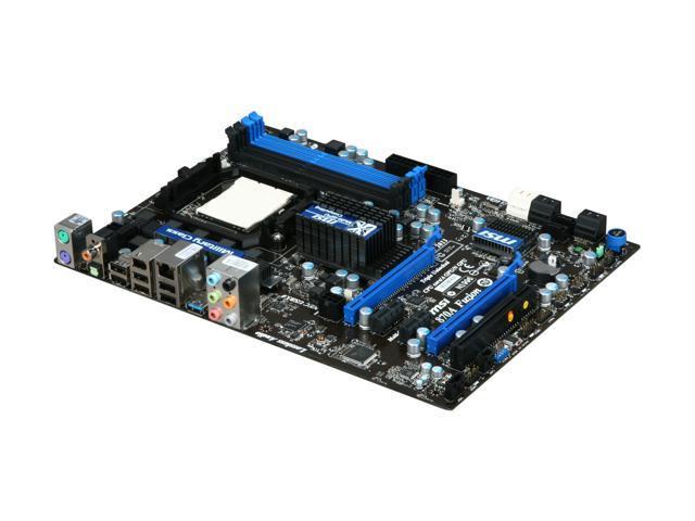 MSI 870A FUZION AM3 AMD 770 SATA 6Gb/s USB 3.0 ATX AMD Motherboard
