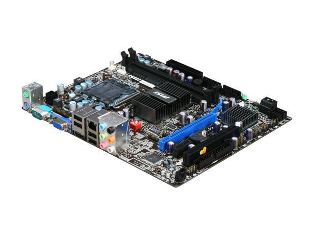 MSI G41M-P34 LGA 775 Intel G41 HDMI Micro ATX Intel Motherboard