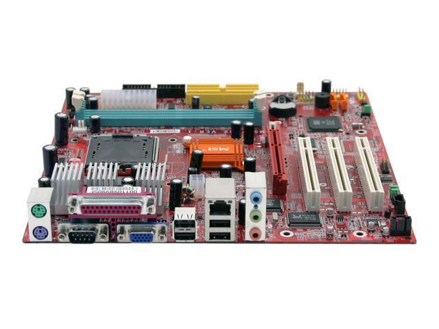 MSI 661FM3-L LGA 775 SiS 661FX Micro ATX Intel Motherboard