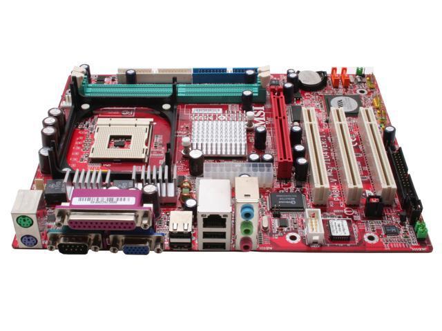 MSI PM8M-V 478 VIA P4M800 Micro ATX Intel Motherboard