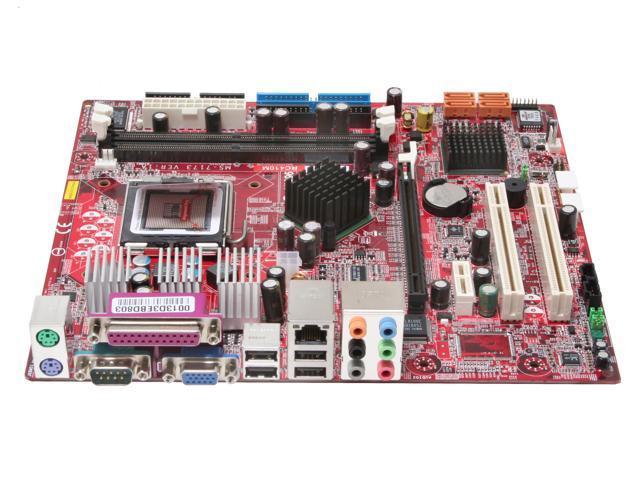 MSI RC410M-L LGA 775 ATI Radeon Xpress 200 Micro ATX Intel Motherboard