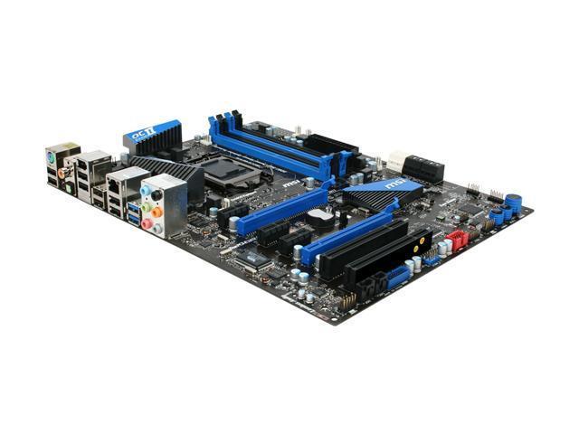 MSI P67A-GD55 ATX Intel Motherboard