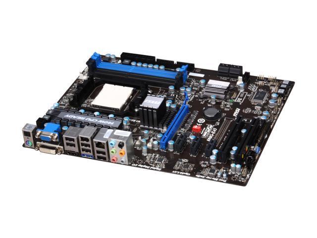 MSI 880G-E45 AM3 AMD 880G HDMI ATX AMD Motherboard