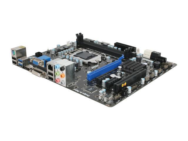 MSI H67MA-E35 (B3) LGA 1155 Intel H67 HDMI SATA 6Gb/s USB 3.0 Micro ATX Intel Motherboard