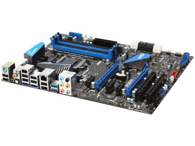 MSI P67A-GD65 (B3) LGA 1155 Intel P67 SATA 6Gb/s USB 3.0 ATX Intel Motherboard