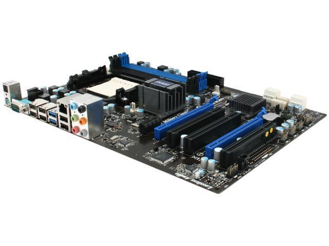 MSI 870A-G46 AM3 AMD 870 SATA 6Gb/s USB 3.0 ATX AMD Motherboard