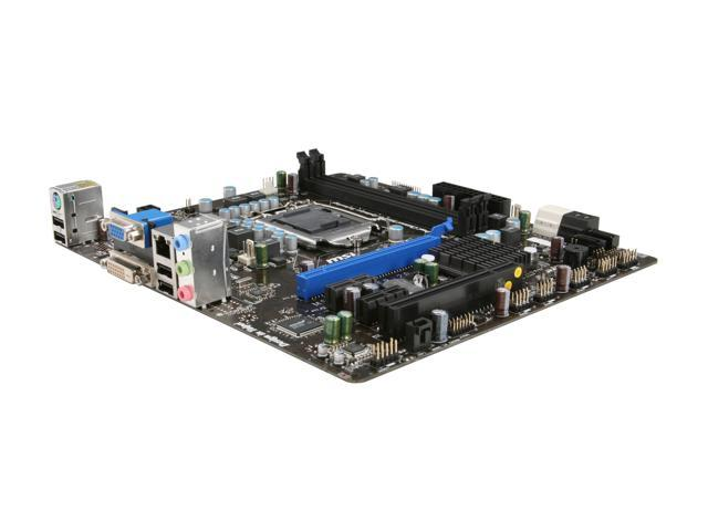 MSI H67MS-E23 (B3) LGA 1155 Intel H67 SATA 6Gb/s Micro ATX Intel Motherboard
