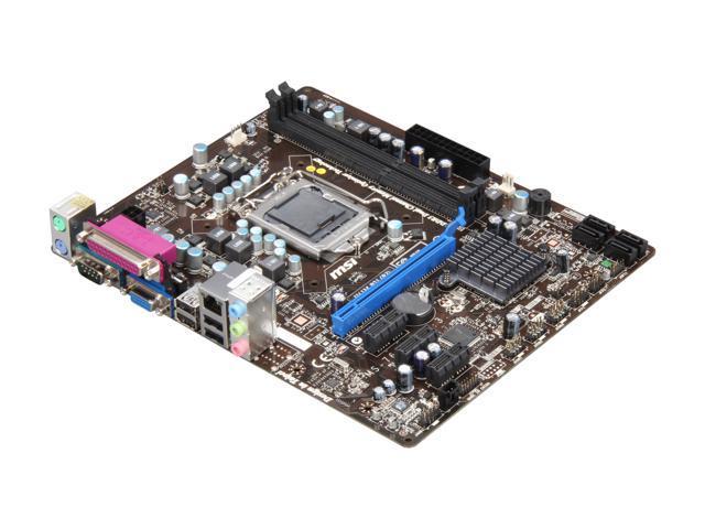 MSI H61M-P21 (B3) Micro ATX Intel Motherboard