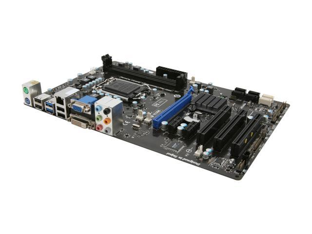MSI PH61A-P35 (B3) LGA 1155 Intel H61 SATA 6Gb/s USB 3.0 ATX Intel Motherboard with UEFI BIOS