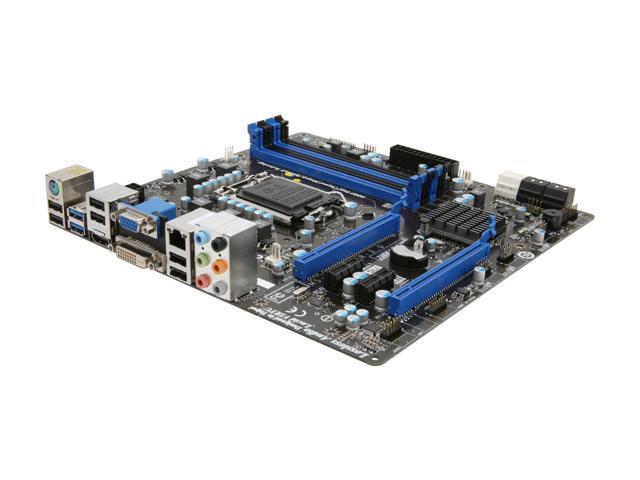 MSI Z68MA-G45 (B3) Micro ATX Intel Motherboard with UEFI BIOS