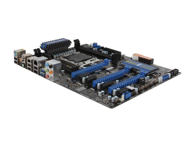 MSI X79A-GD45 ATX Intel Motherboard with UEFI BIOS