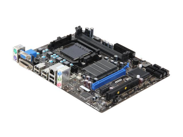 MSI 760GM-P23 (FX) AM3+ AMD 760G + SB710 Micro ATX AMD Motherboard