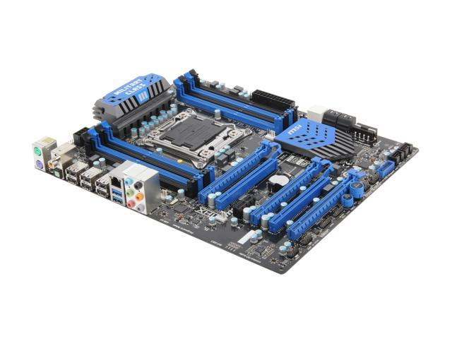 MSI X79A-GD45 (8D) LGA 2011 Intel X79 SATA 6Gb/s USB 3.0 ATX Intel Motherboard with UEFI BIOS
