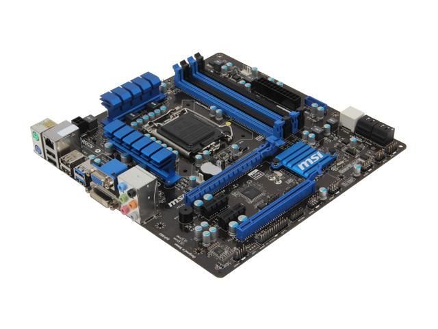 MSI H77MA-G43 Micro ATX Intel Motherboard with UEFI BIOS