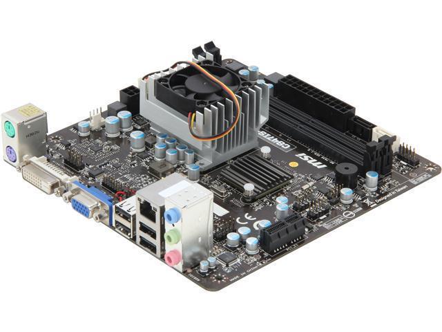 MSI C847IS-P33 Intel Celeron Mini ITX Motherboard/CPU Combo