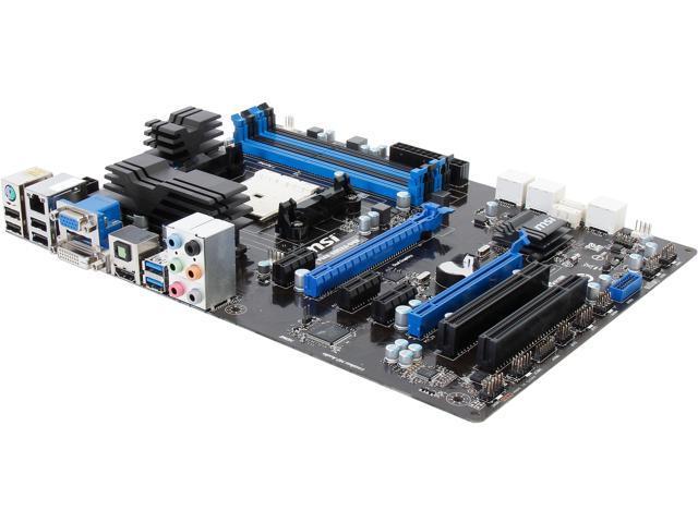 MSI FM2-A85XA-G43 ATX AMD Motherboard