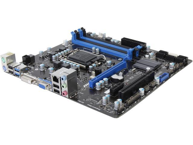 MSI CSM-B75MA-P45 LGA 1155 Intel B75 SATA 6Gb/s USB 3.0 Micro ATX Intel Motherboard