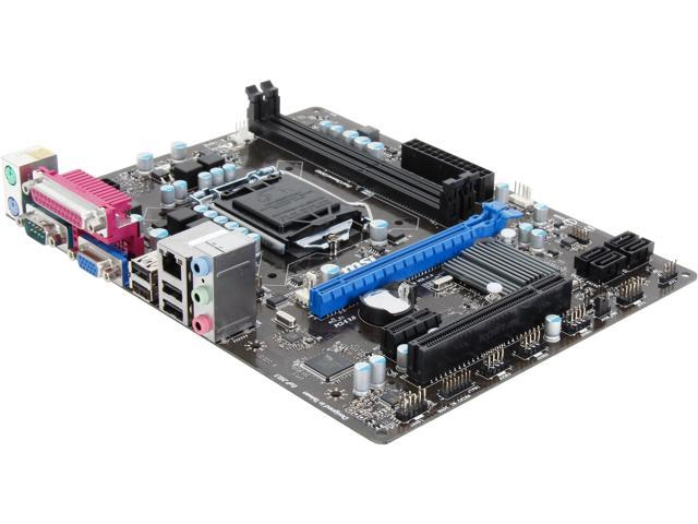 MSI CSM-H61M-P32/W8 LGA 1155 Intel H61 Micro ATX Intel Motherboard