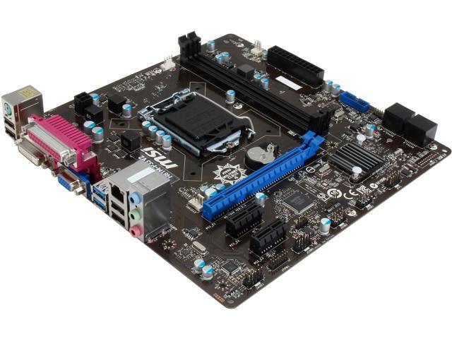 MSI H81M-P33 V2 Micro ATX Intel Motherboard