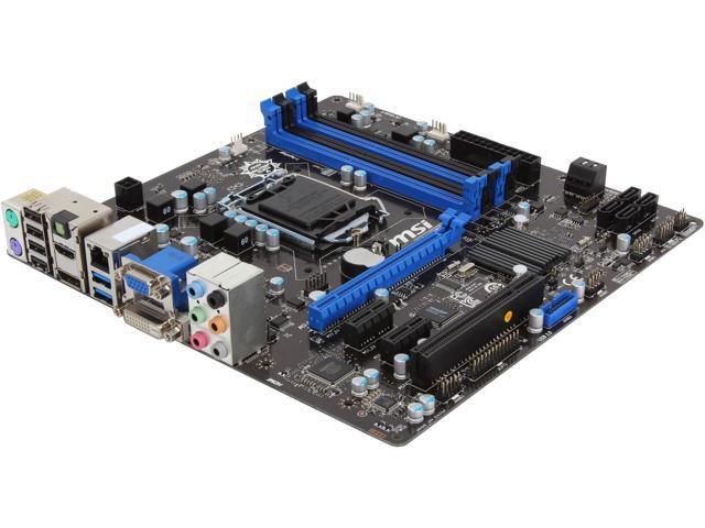 MSI CSM-Q87M-E43 LGA 1150 Intel Q87 HDMI SATA 6Gb/s USB 3.0 Micro ATX Intel Motherboard
