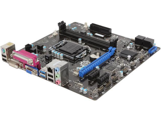 MSI B85M-P33 V2 Micro ATX Intel Motherboard