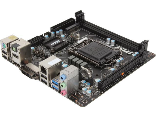 MSI B85I Mini ITX Intel Motherboard