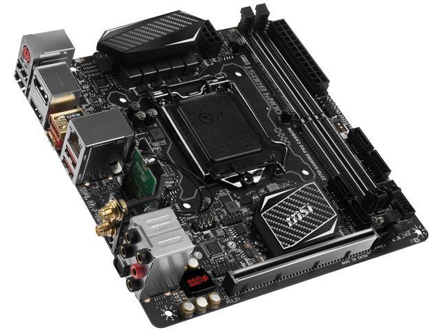 MSI Z270I GAMING PRO CARBON AC LGA 1151 Intel Z270 HDMI