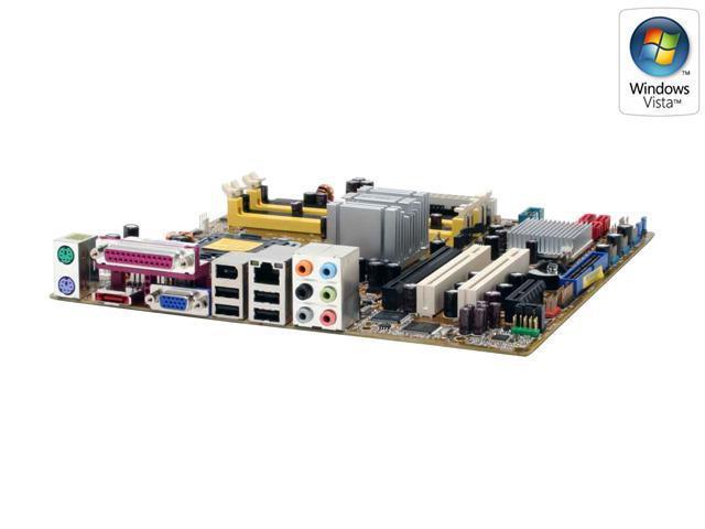 ASUS P5B-VM LGA 775 Intel G965 Express Micro ATX Intel Motherboard