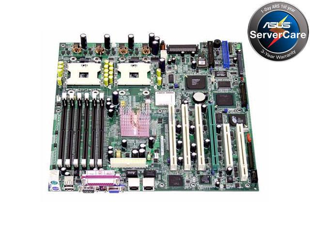 ASUS PU-DLS Extended ATX Server Motherboard Dual 603/604 Intel E7501