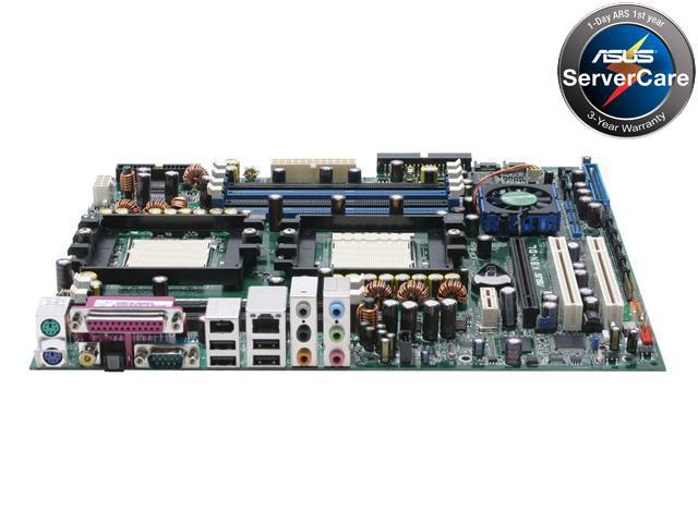 ASUS K8N-DL Extended ATX Server Motherboard Dual 940 NVIDIA nForce4 Professional