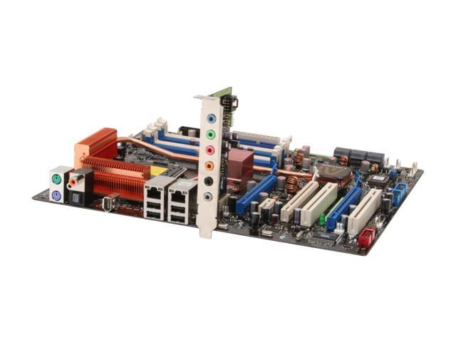 ASUS P5N32-E SLI LGA 775 NVIDIA nForce 680i SLI ATX Intel Motherboard