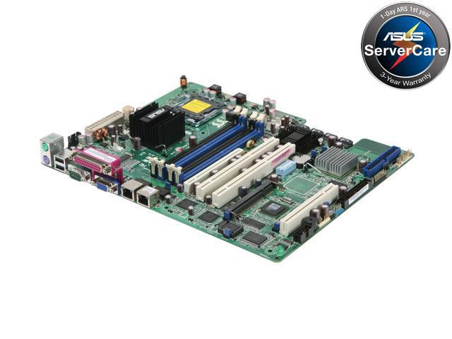 ASUS P5M2/2GBL ATX Server Motherboard LGA 775 Intel 3000 DDR2 667