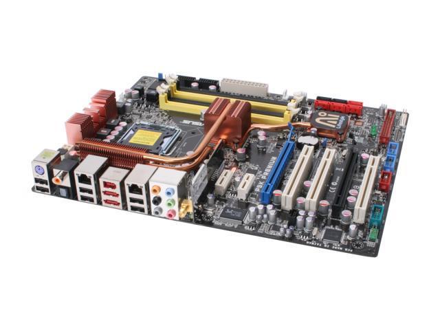 ASUS P5K PREMIUM/WIFI-AP LGA 775 Intel P35 ATX Intel Motherboard